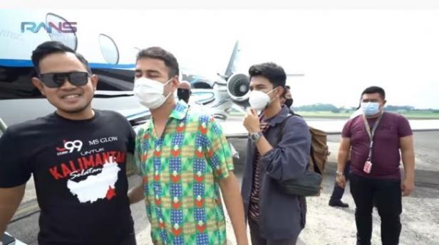 Raffi Ahmad dan Gilang Widya Pramana.