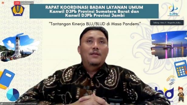 Kepala Kanwil DJPb Sumbar, Heru Pudyo Nugroho, SE.,MBA