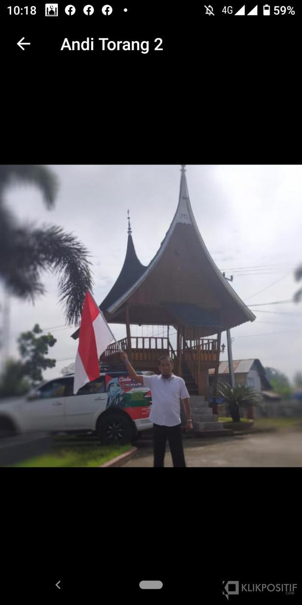 Koordinator Lapangan keberangkatan Muhandi Andi Torang