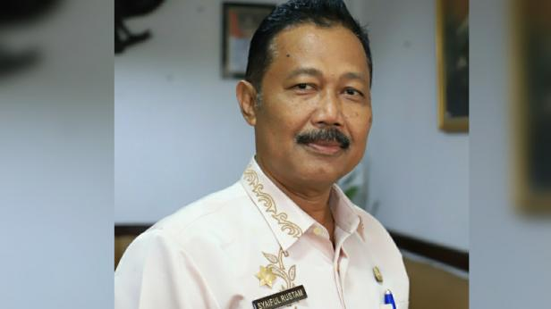 Sekretaris tim Gugus Tugas Percepatan Penanganan Covid-19 Kota Solok, Syaiful Rustam
