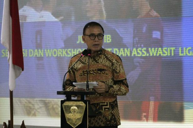 Ketua Umum PSSI Mochamad Iriawan resmi putuskan penghentian Liga 1 dan Liga 2 sebagai dampak Pandemi Vovid-19 di Indonesia