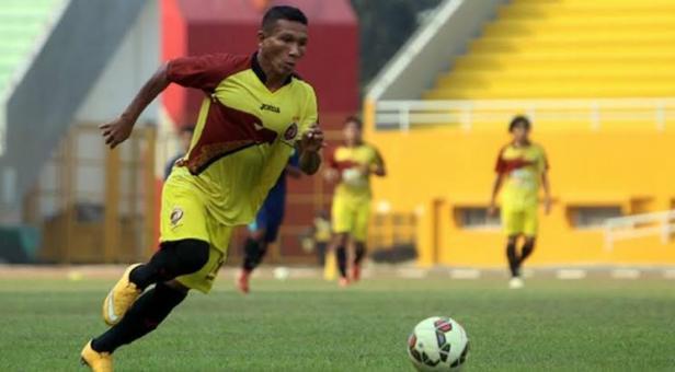Musafri saat masih berseragam Sriwijaya FC