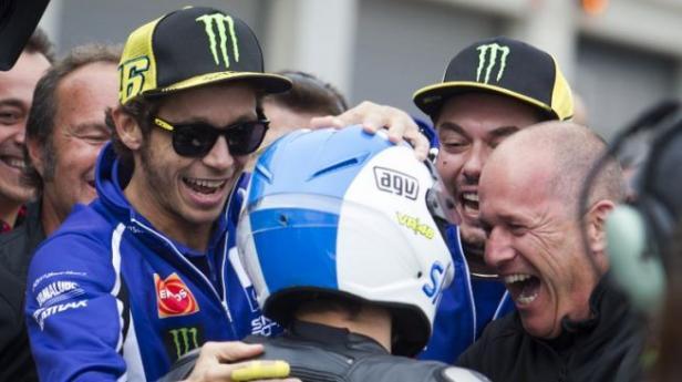 Rossi bersama timnya VR46