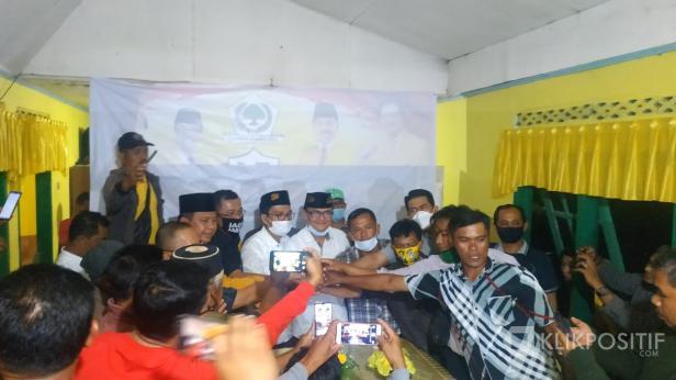 Suasana di Posko Pemenangan SAFARI di Lima Puluh Kota