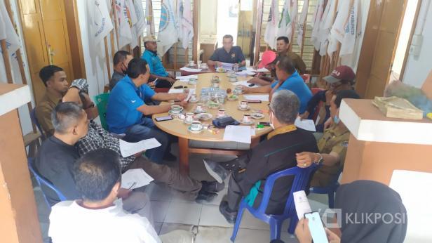 Rapat perdana pengurus KONI Lima Puluh Kota periode 2021-2025.