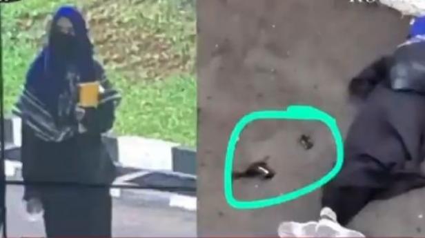 terduga teroris yang menyerang polisi di Mabes Polri