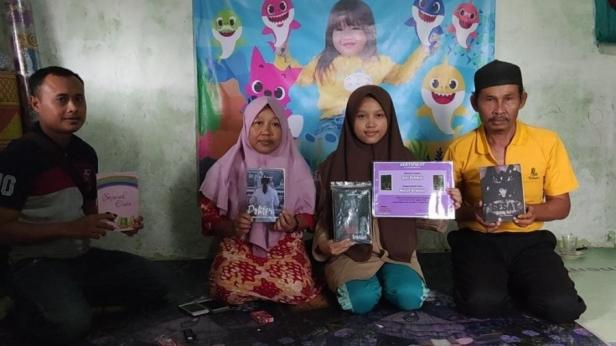 Nurul Aini, siswa MA Mathlaul Anwar Pandeglang produktif menulis novel