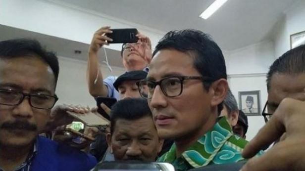 Wakil Dewan Pembina Partai Gerindra Sandiaga Uno