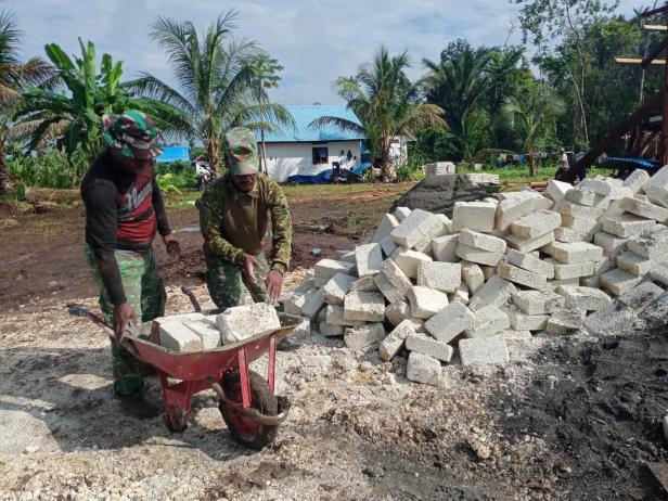 TMMD Berikan Motivasi Warga Kampung Binaan
