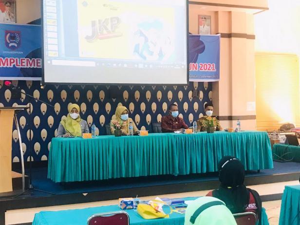 Sosialisasi JKP oleh BPJamsostek Bukittinggi kepada perusahaan Payakumbuh.