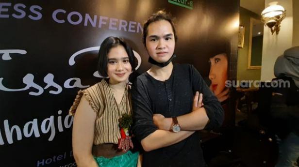 Dul Jaelani dan Tissa Biani.