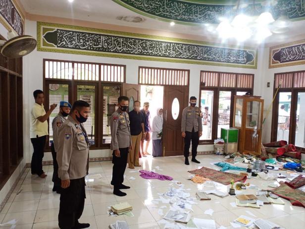 Polisi selidiki perusakan di surau Al-Mu'min