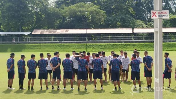 Timnas U16 tengah menjalani TC di Lapangan UII Yogyakarta