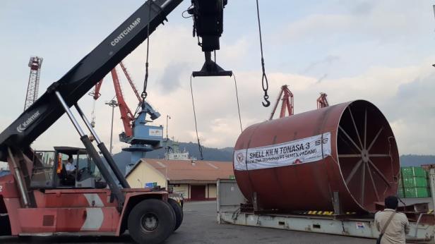 Semen Padang kirim Shell Kiln ke Tonasa