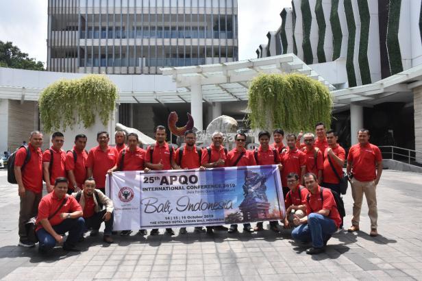 Tim Inovasi PT Semen Padang yang mengikuti APQO di Bali pada 14-16 Oktober 2019 Tahun ini PT Semen Padang kembali mengikutkan 2 timnya pada APQO Australia yang dilaksanakan secara virtual.