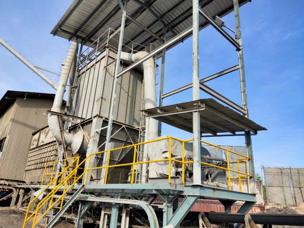 Penambahan & modifikasi Jet Pulse Filter (JPF)  pada jalur Belt Transport  pada fasilitas Cement Mill Semen Padang Dumai, sebagai salah satu proyek optimalisasi  pengendalian debu.