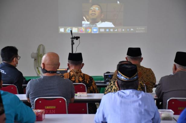 PT Semen Padang bersama KAN Lubuk Kilangan resmikan bantuan program khusus nagari