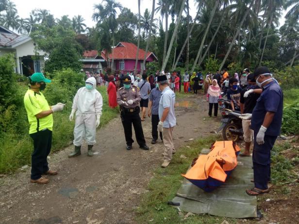 Penemuan mayat di samping SPBU Simpang Kiambang, Nagari Limo Kaum Tanah Datar