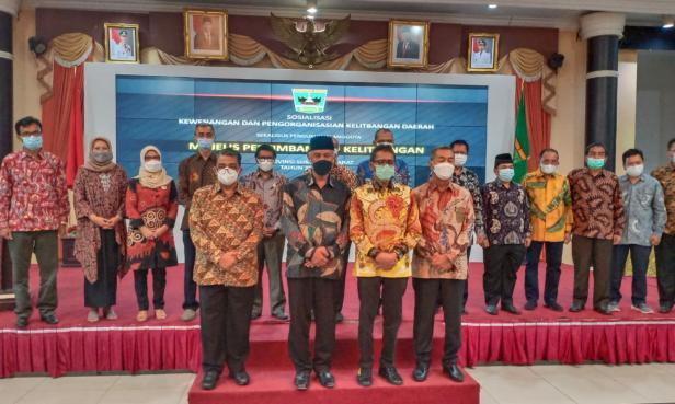 Majelis Pertimbangan Kelitbangan Provinsi Sumatera Barat Tahun 2021 - 2025