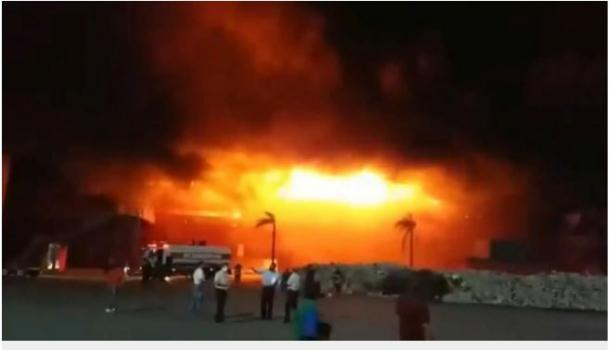 Sirkuit Rio Hondo Argentina Kebakaran