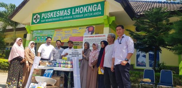 SBA serahkan bantuan CSR kepada Puskesmas Lhoknga dan Puskesmas Leupung untuk meningkatkan kewaspadaan Covid-19 bagi masyarakat.
