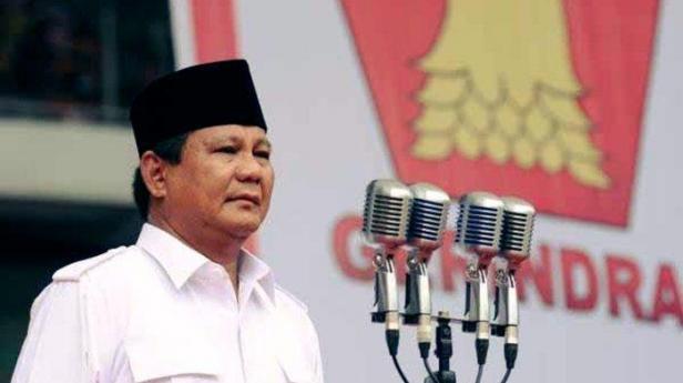 Ketum Gerindra Prabowo Subianto