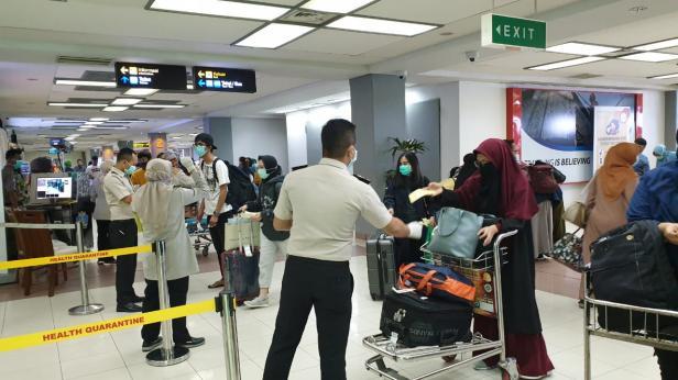 Suasana di Bandara Internasional Minangkabau (BIM)