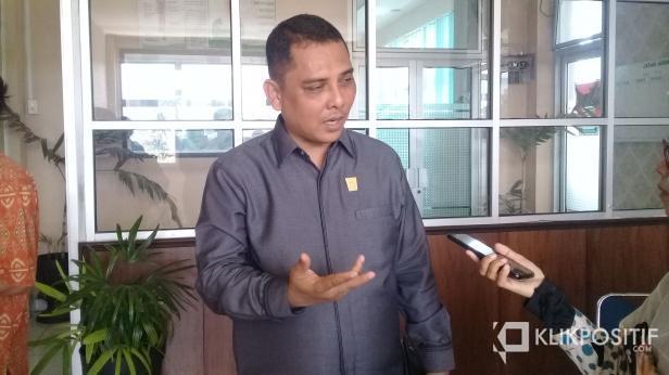 Anggota Dewan Perwakilan Rakyat Daerah (DPRD) Kota Padang Budi Syahrial