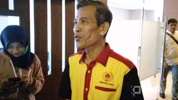 Ketua KONI Sumbar Syaiful
