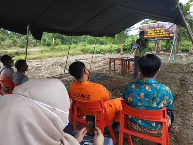 TMMD: Penyuluhan Tentang Bencana Alam dan Kecelakaan