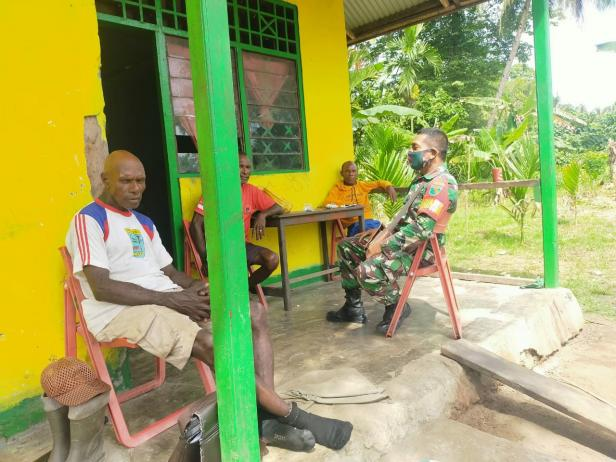 TMMD Merajut Persaudaraan Di Kampung Dorba