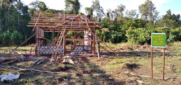 TMMD: Progres Pembangunan Rumah Pastori