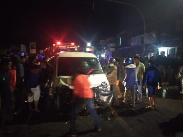 Kecelakaan Maut di Garegeh