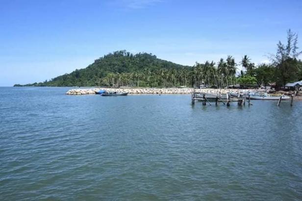 Kawasan Sungai Pisang Bungus yang akan dijadikan dermaga