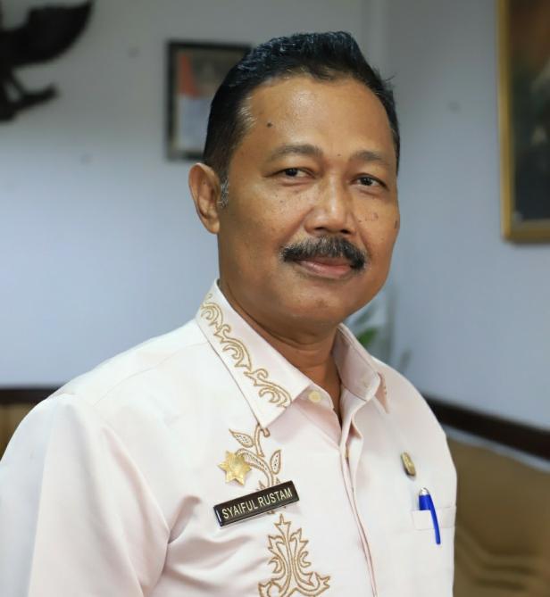 Sekretaris tim gugus tugas penanganan Covid-19 kota Solok, Syaiful Rustam.