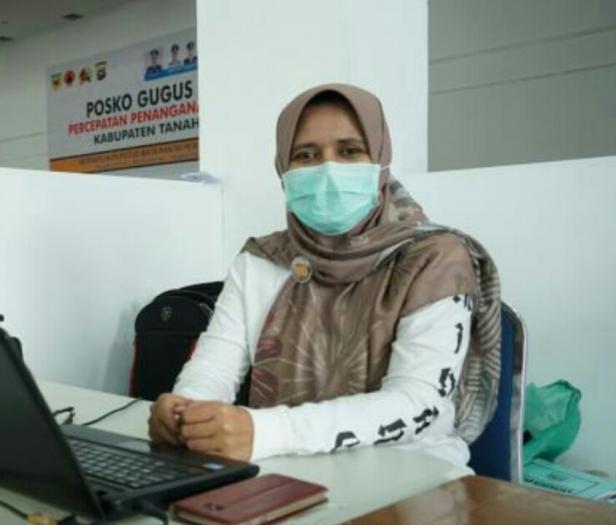 Roza Mardiah, Kabid P2P Dinkes Tanah Datar