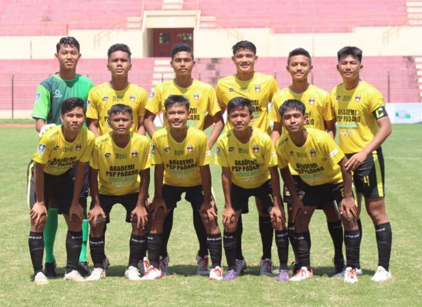 Tim Piala Soeratin U-15 asal Sumatera Barat yang diwakili oleh PSP Padang