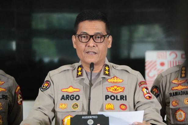 Kepala Divisi Humas Mabes Polri Irjen Argo Yuwono
