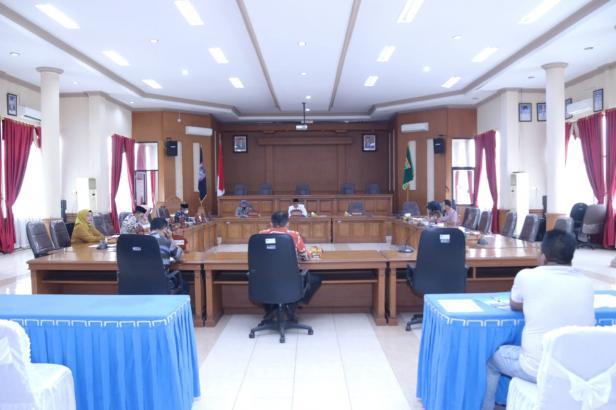 DPRD Payakumbuh gelar Rapat Internal Panitia Khusus (Pansus) Aset untuk memberikan dukungan kepada Pemko Payakumbuh terkait pengelolaan aset di Kota Payakumbuh, Sabtu 17 April 2021 kemarin