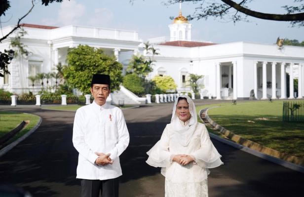 Presiden RI dan Ibu Negara Iriana Jokowi