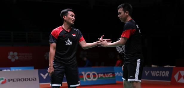 Ganda Putra Indonesia Hendra/Ahsan