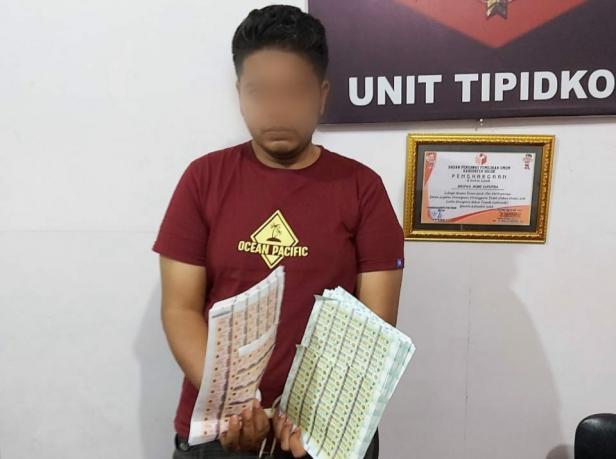 Pelaku dan barang bukti diamankan ke Mapolres Solok