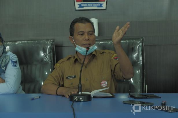 Kepala DKP Padang, Gus Wardi