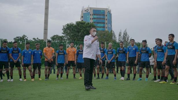 Ketum PSSI Mochamad Iriawan beri motivasi pemain timnas