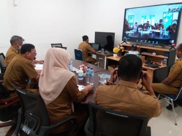 Peluncuran 15 KoBeDa Kampus Nagari secara Virtual oleh Kementerian Desa di Pessel