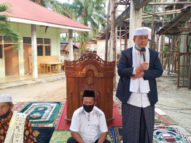 Wagub Sumbar Nasrul Abit di pedalaman Dharmasraya