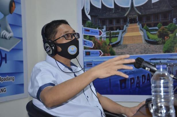 Wakil Wali Kota Padang Hendri Septa