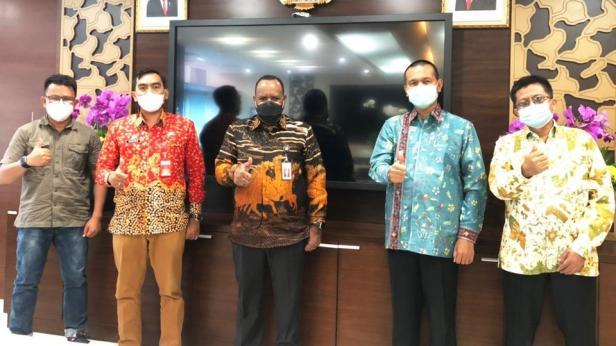 Walikota Pariaman bersama Menteri PUPR