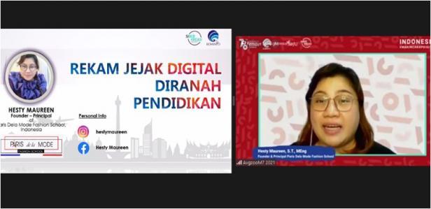 Pelaksanaan Webinar Kemenkominfo di Kota Padang Panjang.