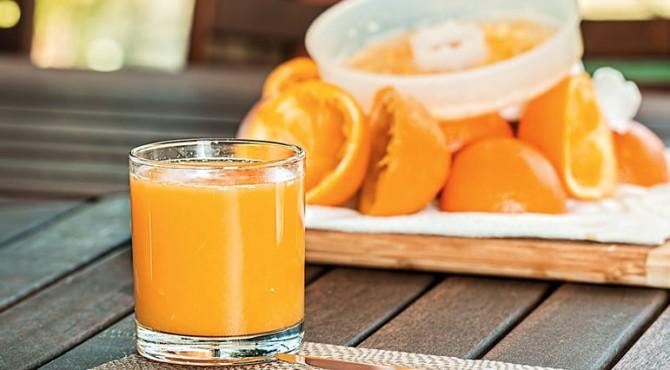 Jus jeruk dapat memancarkan kesehatan dan vitalitas